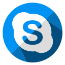 social, internet, web, chat, skype, media, communication icon