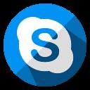 social, internet, web, chat, skype, media, communication icon