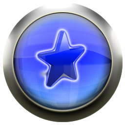 favorite, blue icon