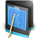 Black, Developer, Folder icon