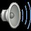 64, audio, gnome, high, volume icon