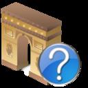 arcodeltriunfo,help icon