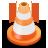 traffic, cone icon