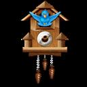 Clock, Twitter, Wall icon