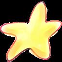 Cartoon, Star icon