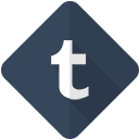 online, tumbler, communication, network, web, social, tumblr icon