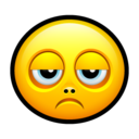 Smiley sad icon