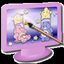 computer, display, screen, monitor icon