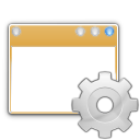 actions, system, windows, preferences icon