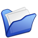 Blue, Folder, Mydocuments icon