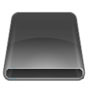 disk, flash, dark, usb, removable, drive icon