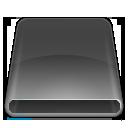 disk, flash, dark, usb, removable, drive icon