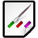 colors, file icon