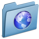 Blue, Web icon