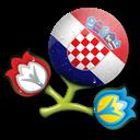 Croatia, Euro icon