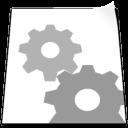 File, Settings icon