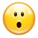 Emotes face surprise icon