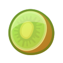 kiwi, fruit, tropical, food, dessert icon