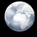 network, graphite icon