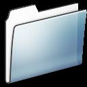folder, generic, smooth, graphite icon