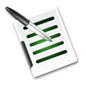 file, edit, document, paper, write, writing icon
