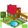 house, garden icon