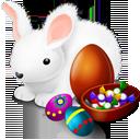 easter, bunny, chokolate icon