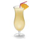 Cocktail Pina Colada icon