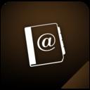 addressbook,shadow icon