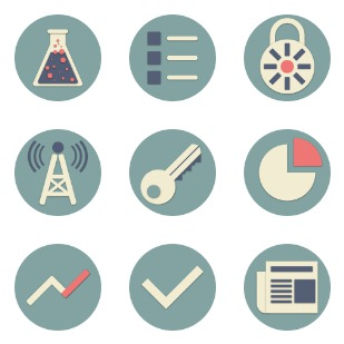 Pictograms Vol.2 icon sets preview