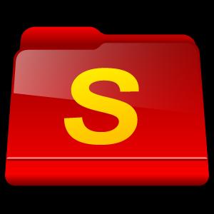 folder, shareaza, downloads icon