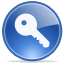 logoff, password, key, access icon