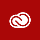 adobe, creative, cloud icon