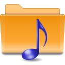 sound, voice, kde, folder icon