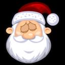 sleeping,santaclaus icon
