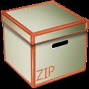 Box, Zip icon