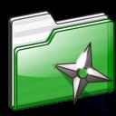folder shuriken icon