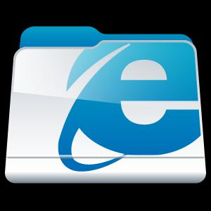 folder, internet, explorer icon