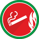 cigarette, fire, smoke, smoking, cigar, tobacco icon