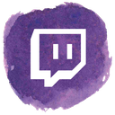 gamer, game, social, twitch, video icon