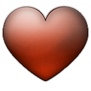 heart, love, valentine, emblem, favorite icon