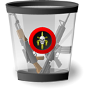 full, recycled icon