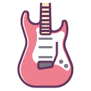 electronics, concert, sound, guitar, music, rock, device icon