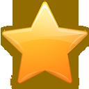 favorite, favourite, bookmark, star, keditbookmarks icon