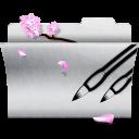 folder, photoshop, white, ps icon