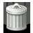Delete, Edit, Gnome icon