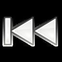 media, skip, backward icon