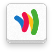 google, revision, wallet, six icon