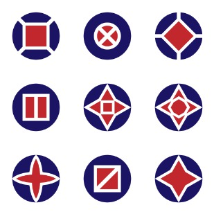 abstract symbols icon sets preview