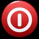power off, turn off, shutdown, shut down icon
